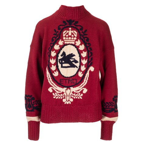 wool nottingham sweater
