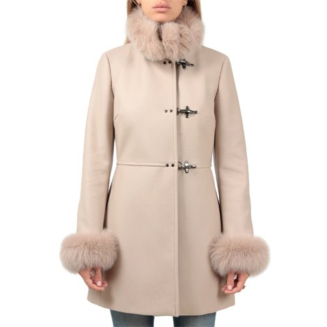 beige virginia coat