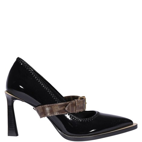 90mm  leather pumps