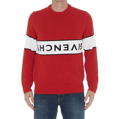 red  logoed  sweaters