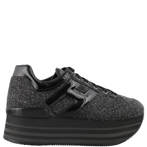 black glittered h283 maxi  sneakers