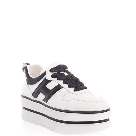 white leather h449 sneakers