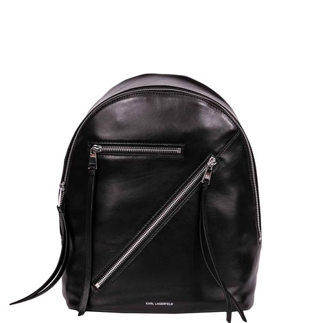 black leather k/odina backpack