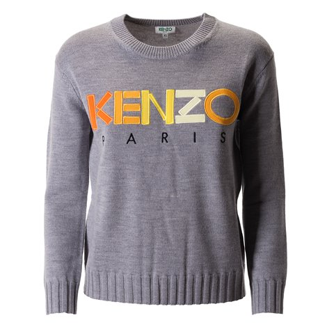 logoed sweater