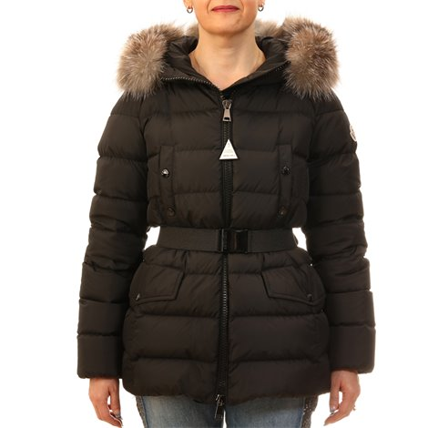 down jackets coat with fur hood