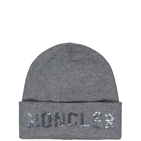 wool sequined beanie