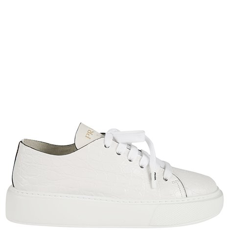 white leather hilary sneakers