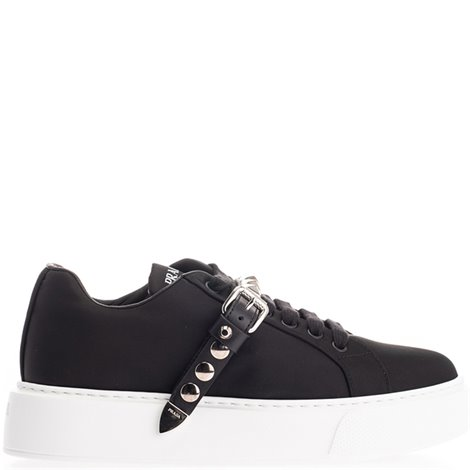 black studded  sneakers