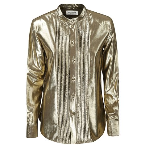 golden shirt