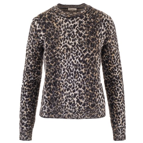animalier printed sweater