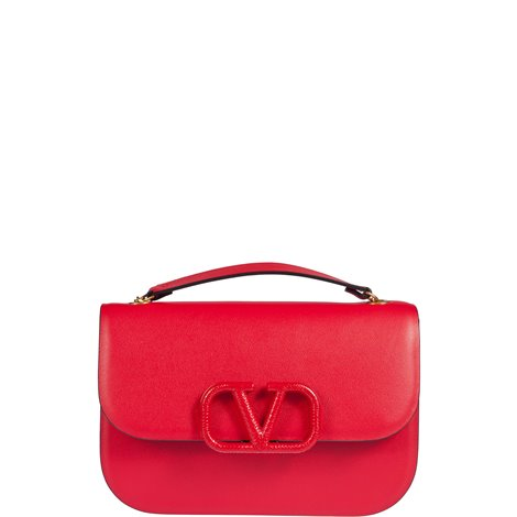 red  leather small vlock