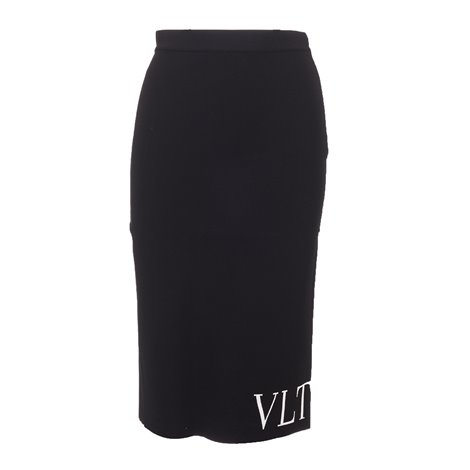 vltn tapered skirt