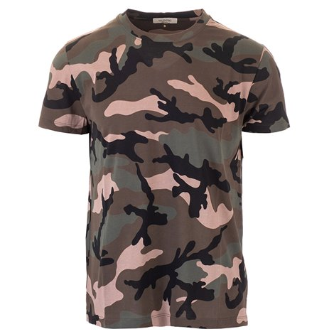 camo cotton t-shirt