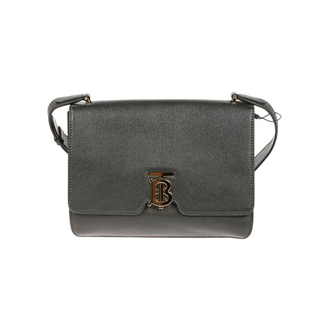 black grain leather alice shoulder bag