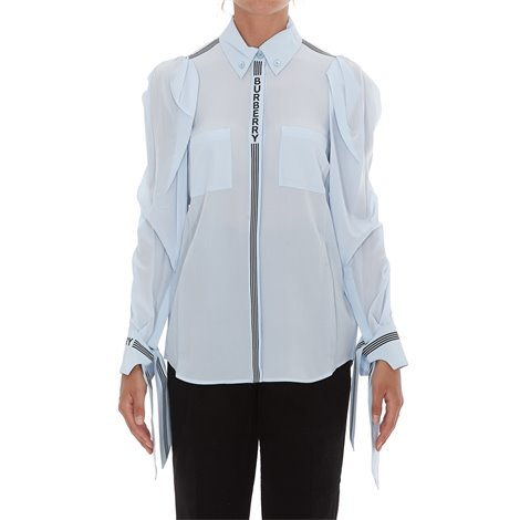 godwit iconic stripe silk shirt