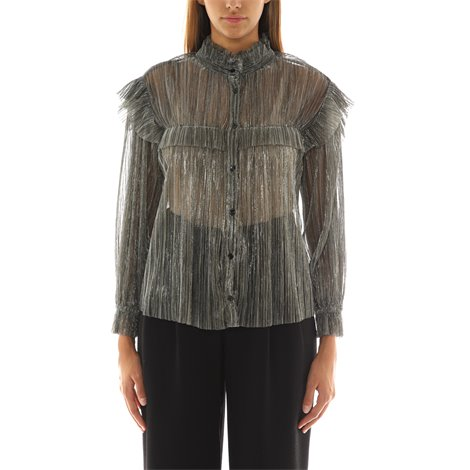 elmirae ruffled shirt