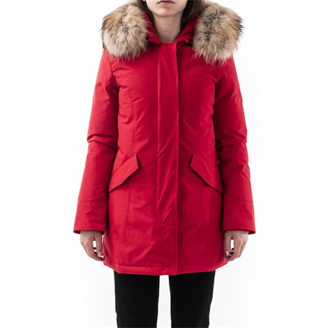 parka arctic rosso