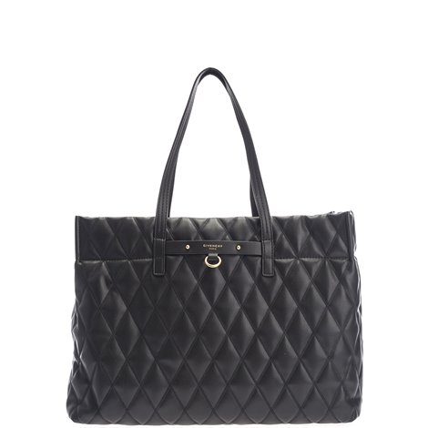 quilted duo tote bag