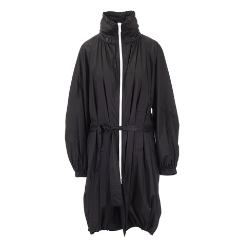 zipped raincoat