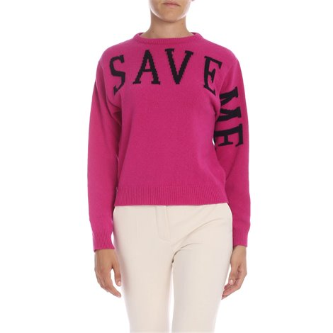 fuchsia<br/>contrasting black detail<br/>embroidery on the back<br/>ribbed edges