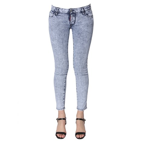logoed jeans