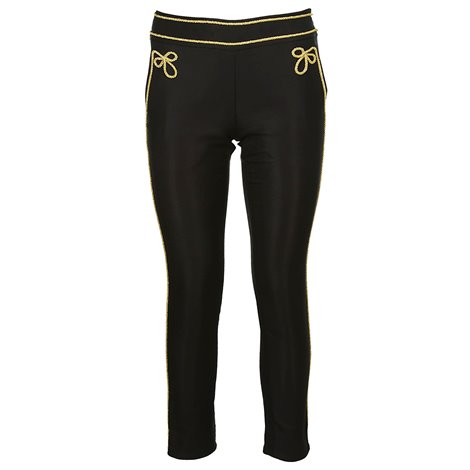 black circus trousers