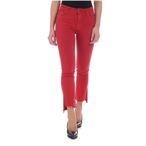 jeans crop in cotone stretch hustler