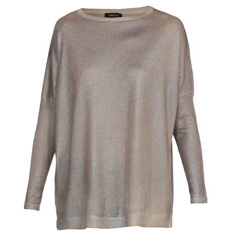 bronze silk and cashemere sweater
