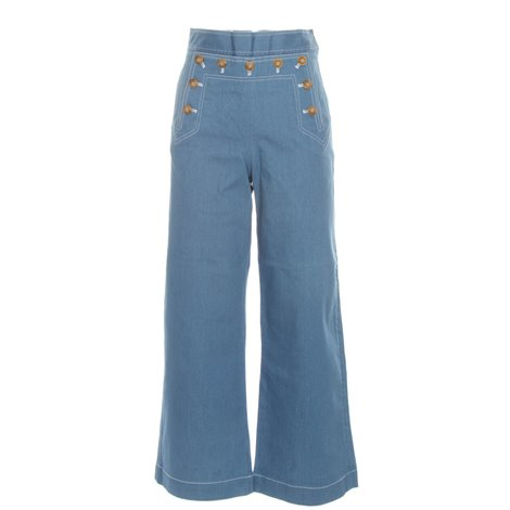 sailor cropped trousers