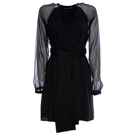 black sheer dress silk dres