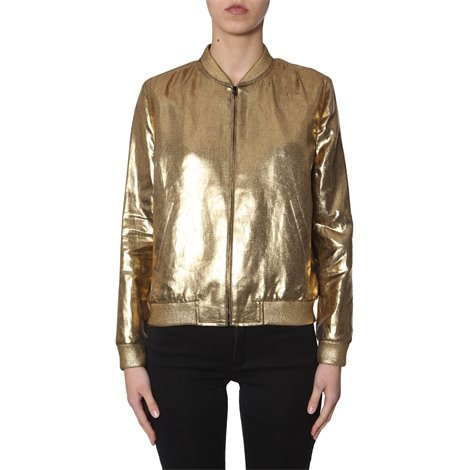 golden linen jacket