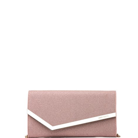 wallet-clutch glittered pink