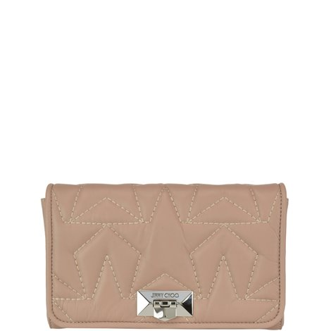 matelassé leather helia clutch