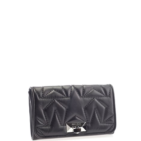 leather helia clutch