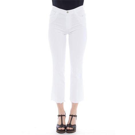 white selena mid-rise cropped jeans