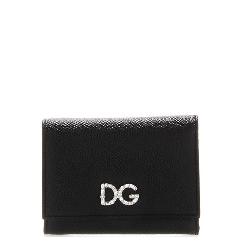 leather logoed wallet