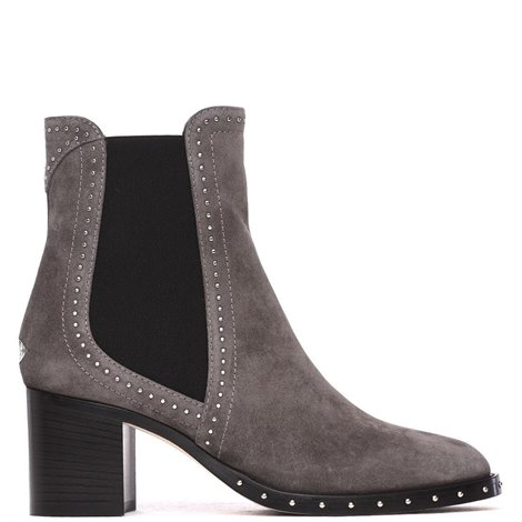 grey suede merril ankle boots