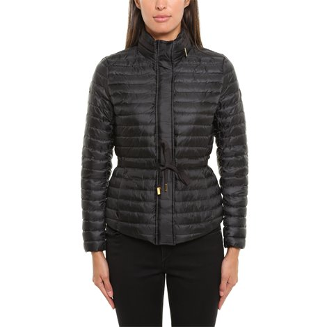 black lightweight downjacket