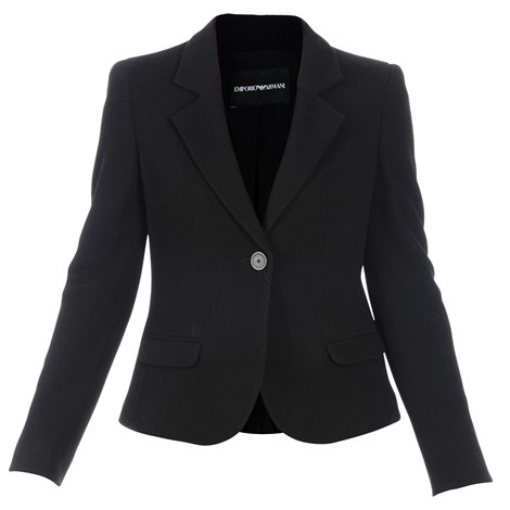 black virgin wool jacket