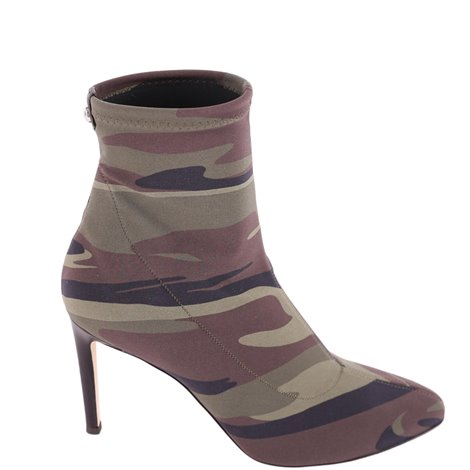 bimba camouflage ankle boots
