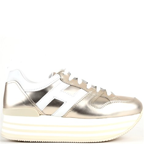 golden leather h283 sneakers