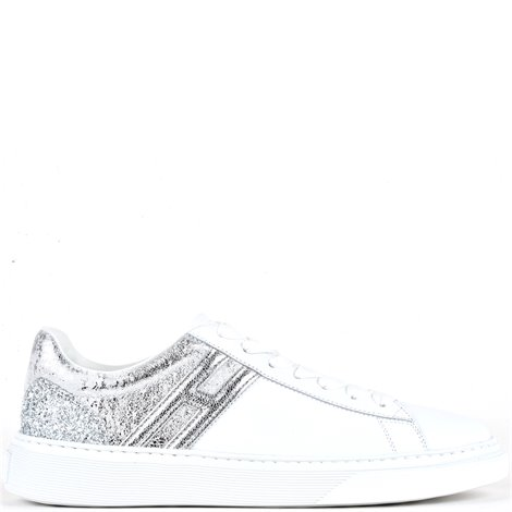 white leather h365 sneakers