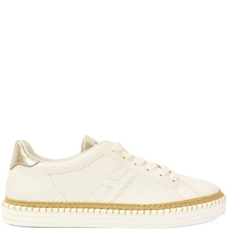 white leather  r260 sneakers