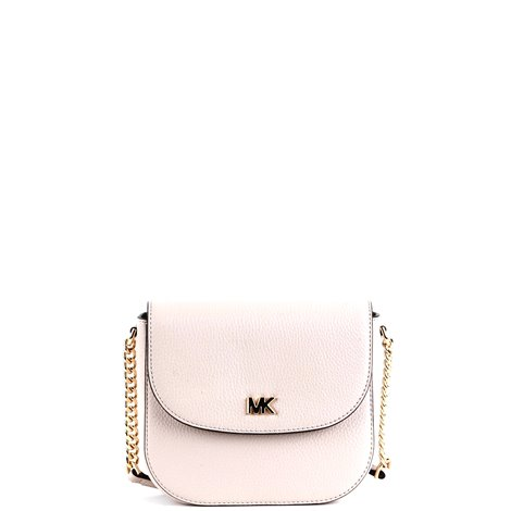 dome shape leather crossbody