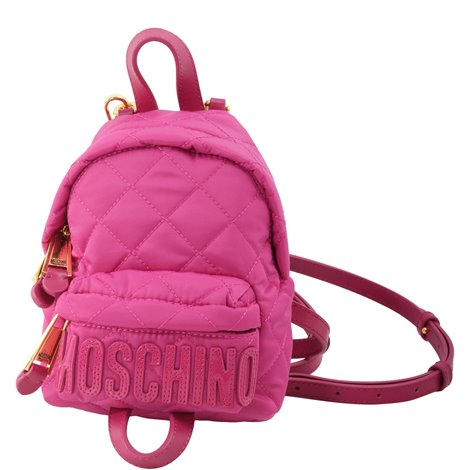 quilted fuchsia backpack