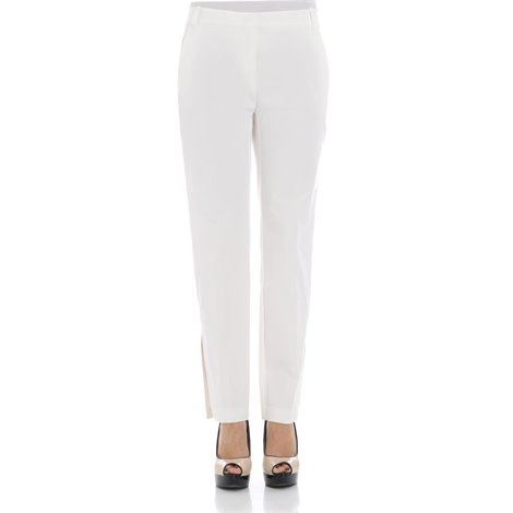 white gussie pants