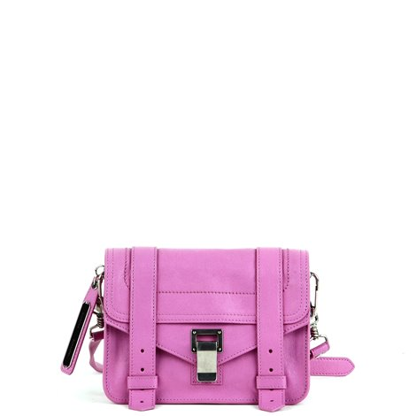 pink leather crossbodybags