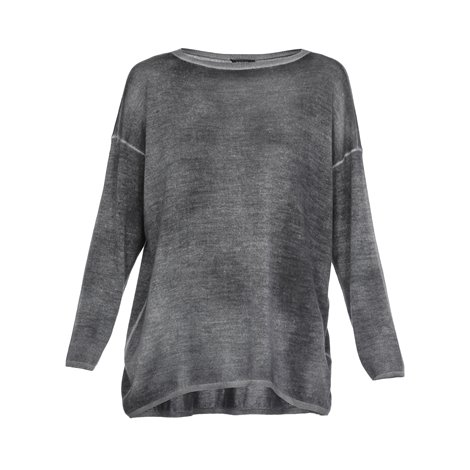 grey cashmere and silk sweater