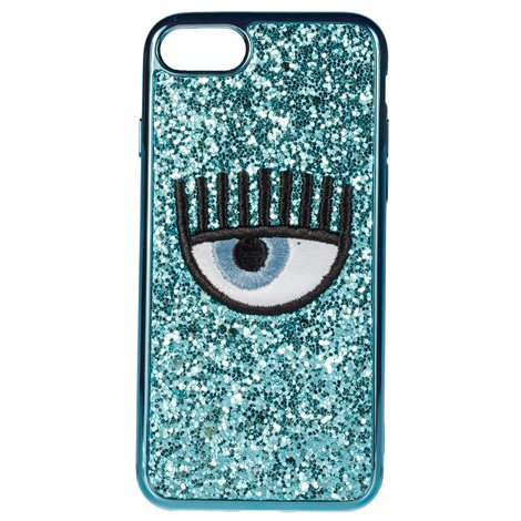 iphone 7/8 eye glitter cover