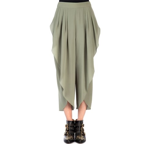 silk sahara trousers